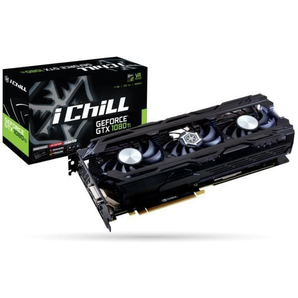 INNO3D iChill GeForce GTX1080TI 11GB X3 ULTRA