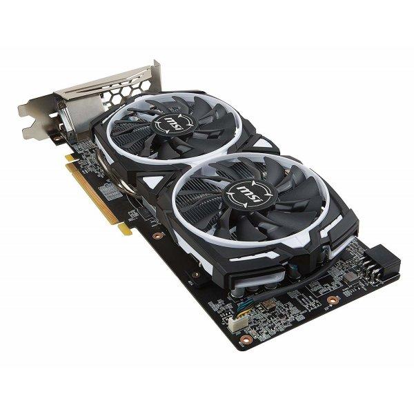 MSI Radeon RX 580 ARMOR 8G OC Scheda Grafica, Nero