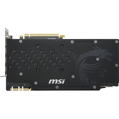 MSI GeForce GTX 1080 TI Gaming X 11G Scheda Grafica PCIE 3.0, 11 GB, GDDR5X 352 bit, 11.01 GHz, 1569 MHz, Nero