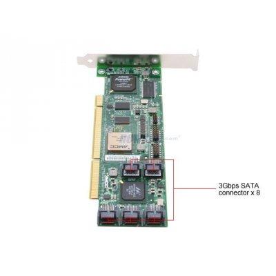 Controller 3Ware Escalade 9550SX-8LP SATA2 Raid 64Bit 133Mhz PCI-X