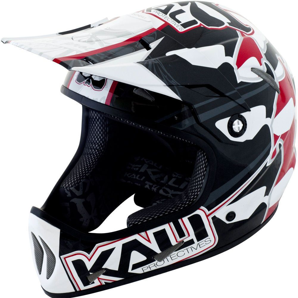 AVATAR KALI PROTECTIVES AVATAR MASK BLACK/RED Helmet .
