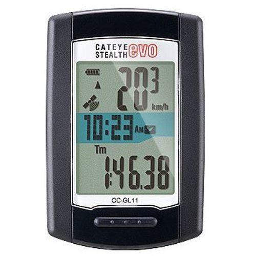 CATEYE STEALTH EVO+ CICLOCOMPUTER GPS
