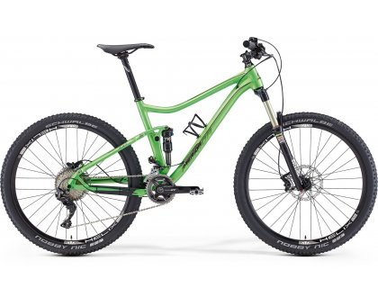 "ONE-TWENTY XT-EDITION Bici MERIDA 2016 27,5 full suspension taglia M 17"""
