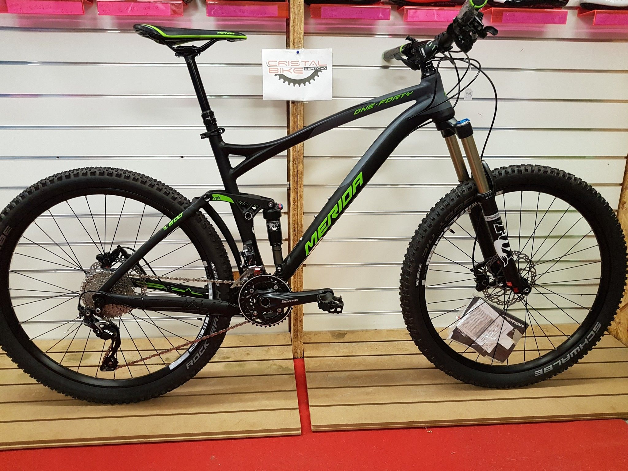 BICI MTB MERIDA ONE FORTY 7.600