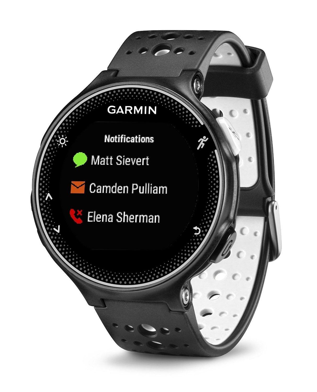 FORERUNNER 230 navigatore Garmin GPS e contapassi da polso Smart notific e bluetooth