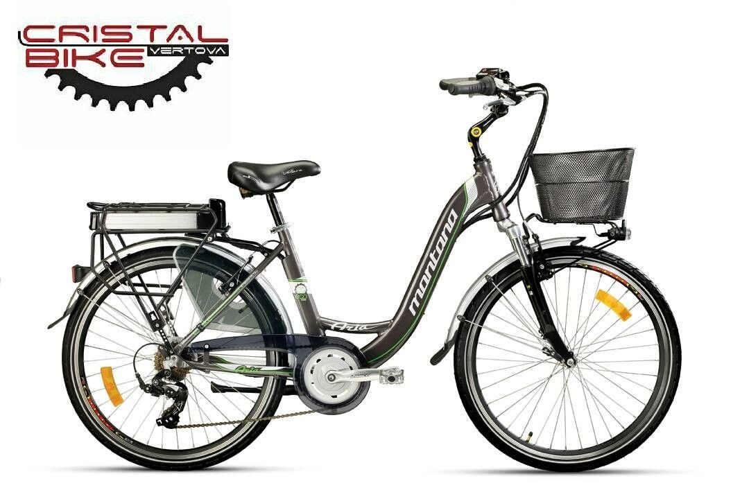 Bicicletta Elettrica Montana City Aria Nuova