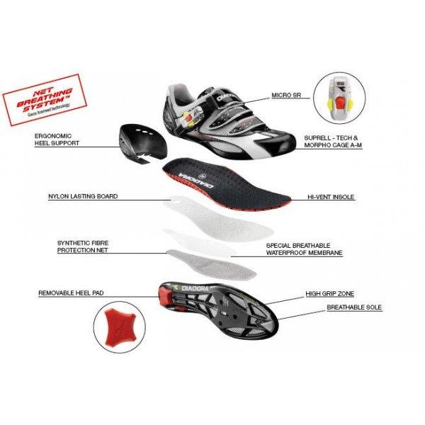Scarpa da ciclismo Mig Racer CR Diadora
