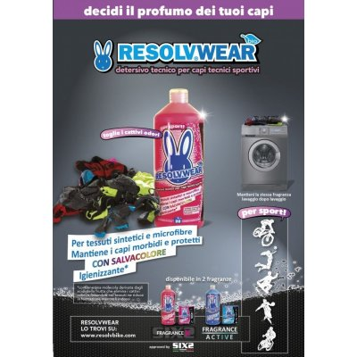 Sixs Detersivo Tecnico Resolwear Fragance ACTIVE 1000ml
