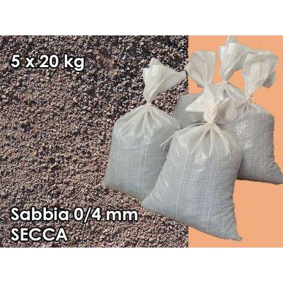 Sabbia di porfido del Trentino 0/4 mm secca