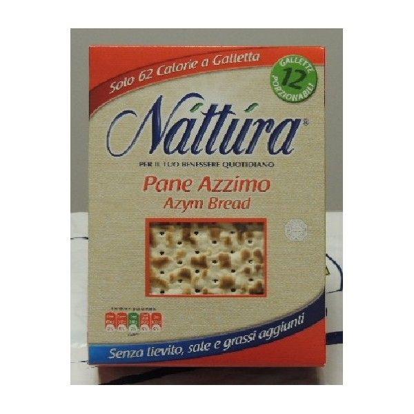 Pane Azzimo gr 200 Nattura 100% Vegetale