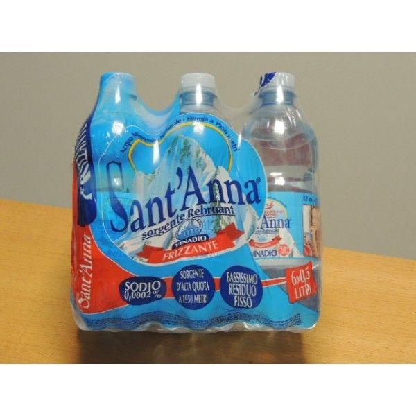 Acqua Sant'Anna Frizzante cl 50 X 6