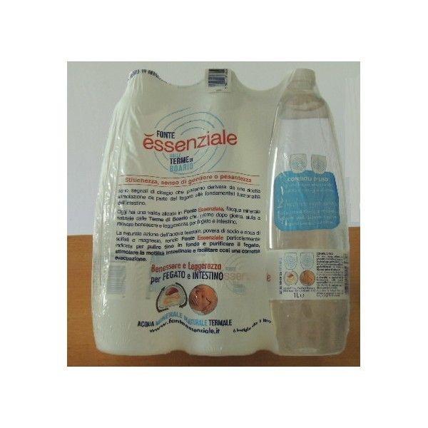 Acqua Fonte Essenziale Lt 1 X 6
