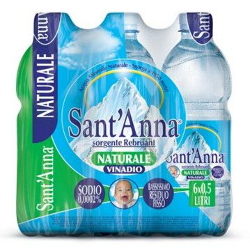 Acqua Sant'Anna Naturale cl 50 X 6