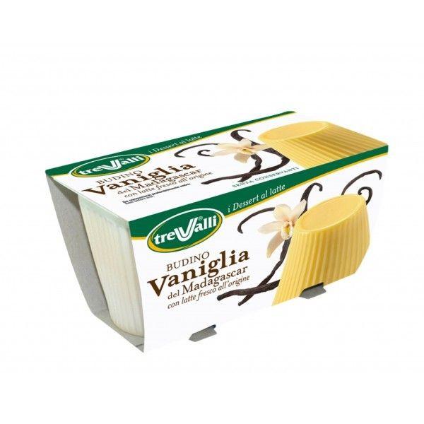 Budino Trevalli gr. 200 Vaniglia