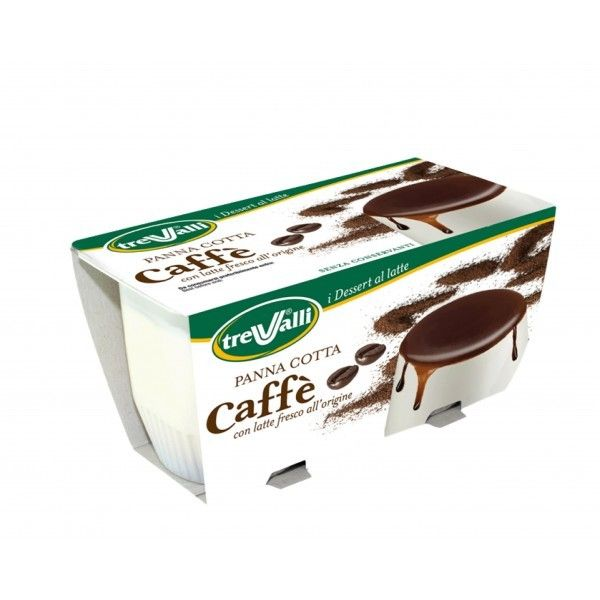 Panna Cotta Trevalli 200 Caffè
