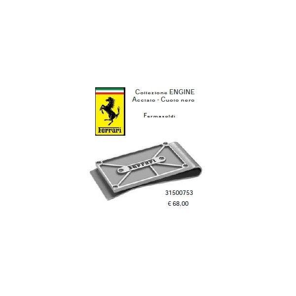 Ferrari Fermasoldi in acciaio