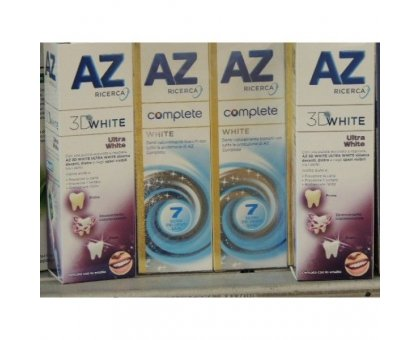 Dentifricio AZ Ultra White ML 75