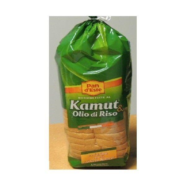 Pane a Fette Kamut e Olio di Riso gr 400
