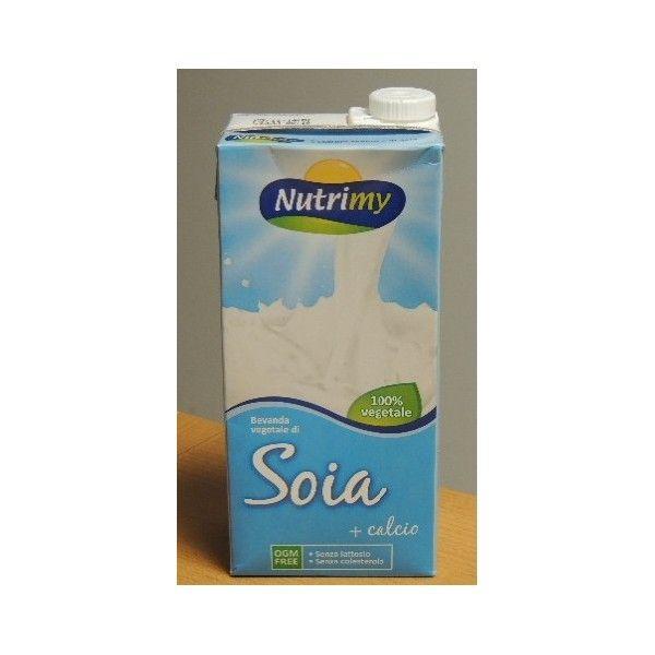 Bevanda Vegetale Soia+Calcio Nutrimy lt 1