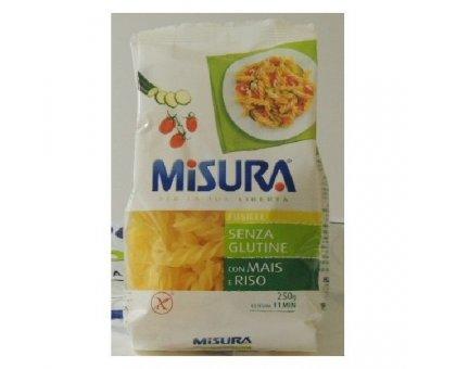 Fusilli S/Glutine Mais e Riso gr 250 Pasta Misura