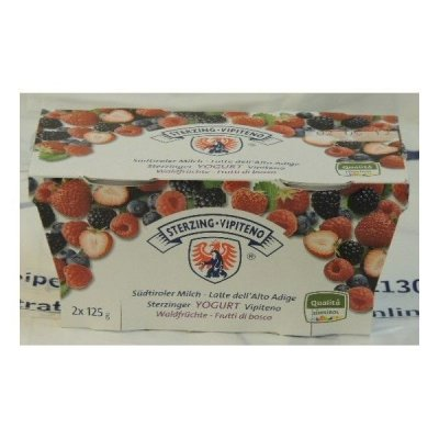Yogurt Vipiteno 2x125 Frutti Bosco