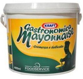 Maionese Gastronomic Kg 5 Kraft