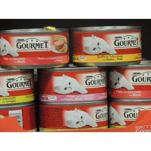 Gourmet Gold ML 85 Mousse Pesce