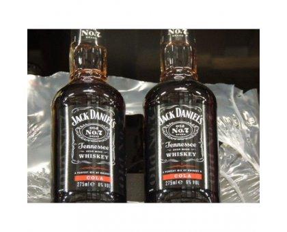 Jack Daniel's & Cola Bott. 275 Liquore
