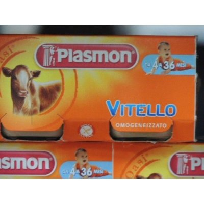 Plasmon  Vitello gr 80 X 2 Omogeneizzato