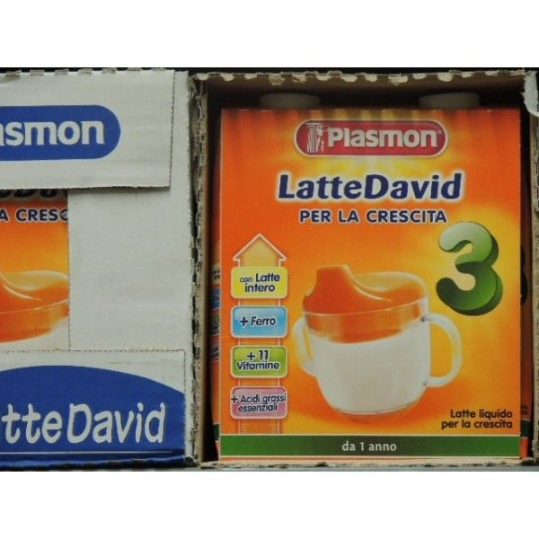 Plasmon Latte David ML 500 X 2
