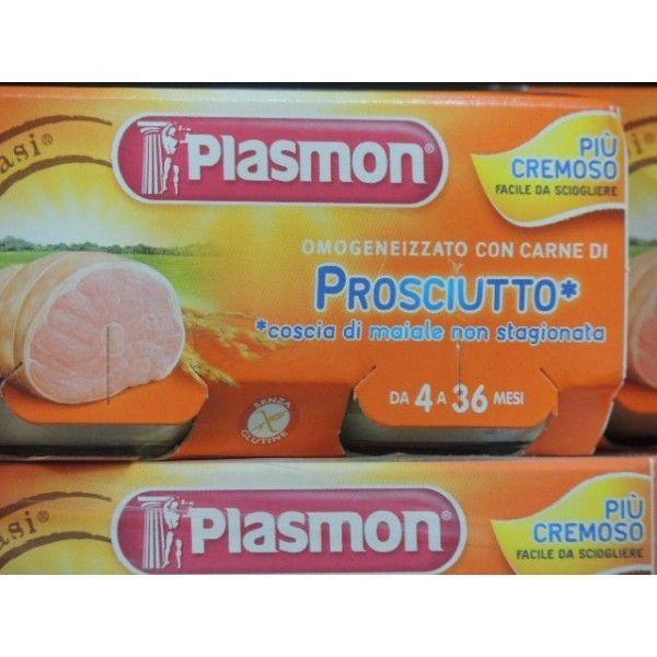 Plasmon Prosciutto gr. 80 X 3 Omogeneizzato