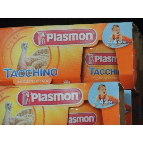 Plasmon  Tacchino gr 80 X 2 Omogeneizzato