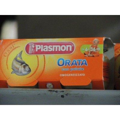 Plasmon   Orata gr. 80 X 2 Omogeneizzato