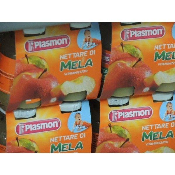 Plasmon Nettare Mela 125 X 4 Succo