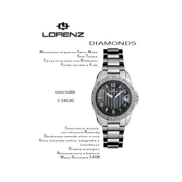 Lorenz Diamonds Nero