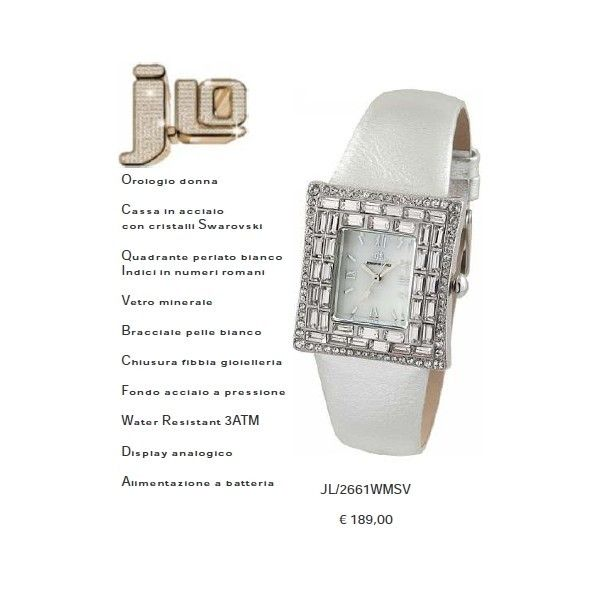 J.Lo. con quadrante perlato
