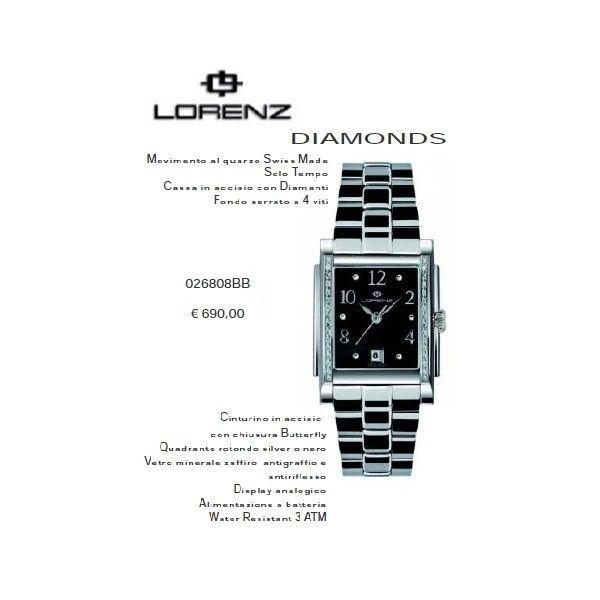 Lorenz Diamonds nero Quadro