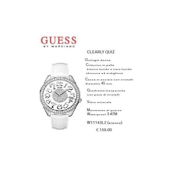 Guess Clearly Quiz Bianco