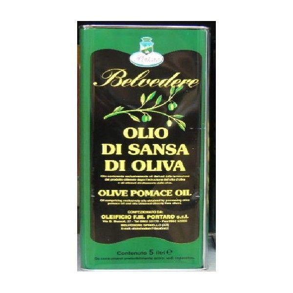 Olio di Sansa di Oliva kg 5 Belvedere