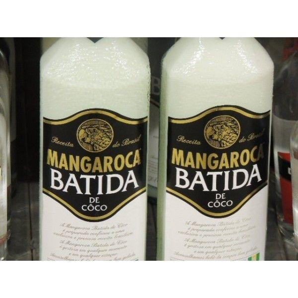 Batida De Coco Mangaroca CL 70 Liquore