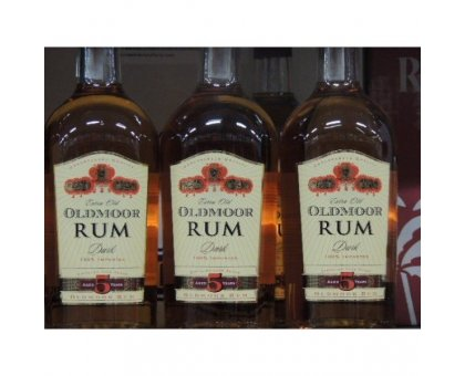 Rum Dark Oldmoor 38° CL 70 Liquore
