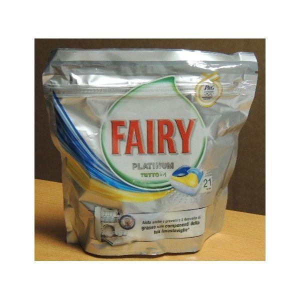 Fairy platinum tabs 21 tutto in 1 casalinghi detersivi for Tutto per la casa shop online