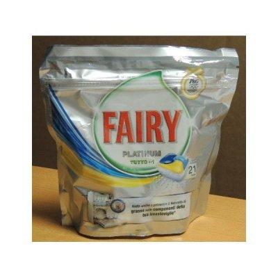Fairy Platinum Tabs 21 Tutto in 1