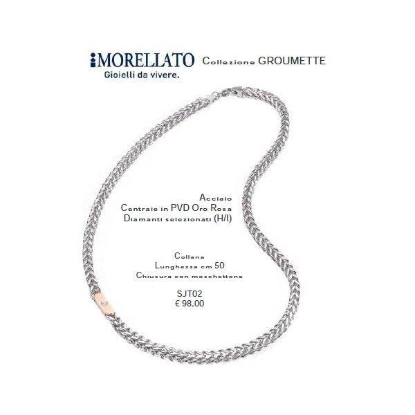 Morellato Collana in acciaio lung. cm 50