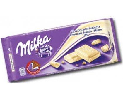 Cioccolata Milka Bianco gr. 100
