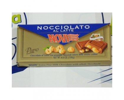 Cioccolato Novi Nocciolato Latte gr 130