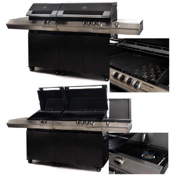 Turbo Classic 6 + Piano Cottura BBQ Dolcevita