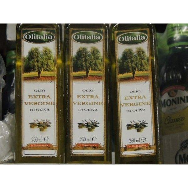 Olio Extra Vergine Oliva Olitalia CL 25