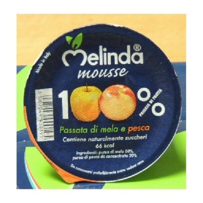Mousse di Frutta Mela/Pesca Melinda
