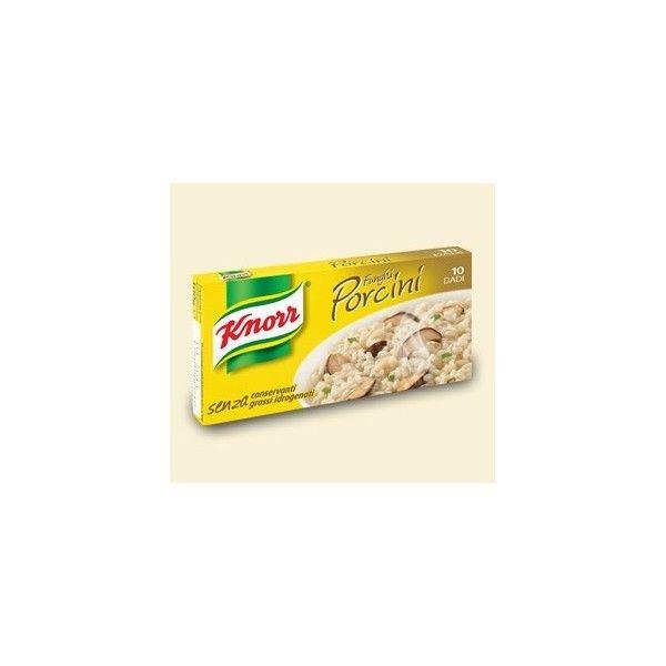 Dadi Knorr  10 Cubetti Funghi Porcini